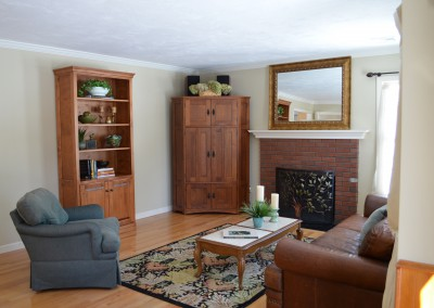 Medfield Living Room After